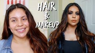 EXTREME SUMMER GLAM TRANSFORMATION: HAIR + MAKEUP 2018 | JuicyJas