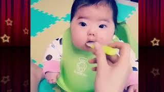 Fat Baby Feed Baby Milk. Lovely baby. Cute Baby. Funny Baby. Innocent Baby. Baby kissing.