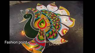 Diwali rangoli ll New stylish design rangoli ll photo collection ll Images ll by Fashion point