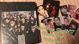 Organizing My NCT Photo Card Collection
