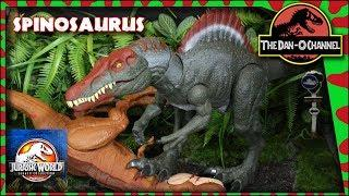 Jurassic World Legacy Collection Spinosaurus Review and Unboxing