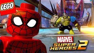 LEGO Marvel Super Heroes 2 PT BR - TIRANDO FOTO DA CIDADE COM O HOMEM-ARANHA