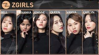 Z-GIRLS, Assemble! : Members Profile