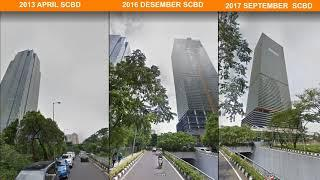 Google Street View hitorical photo collection year by year