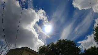 Chemtrails and Sun Simulator Video and Photo Collection: June 10, 2018