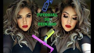 ????TUTORIAL DE PEINADO.. A LAS PRISAS / Hairstyle DIY tutorial easy / auroramakeup