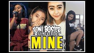 Toni Boster - Mine (lirik) edisi foto foto Ria cing cing