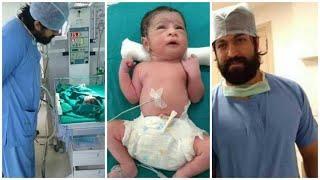 Yash & Radhika pandit baby new photos| exclusive photos of Radhika pandit & Yash