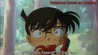 """Conan/Shinichi, Sonoko y la """"Foto Sexy Especial"""" de Ran (Episodio 411) [Sub. Español]"""
