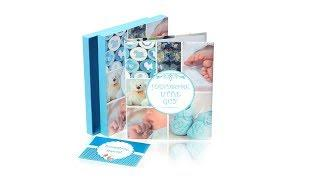 Newborn Baby Memory Book for Boy or Girl