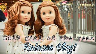 American girl 2019 Girl of the year release vlog + Opening Blaire doll