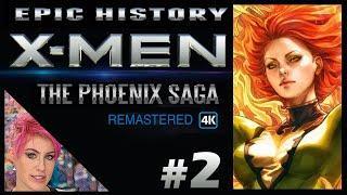 How Jean Grey Became The Phoenix - (2/9) The X-Men Phoenix Saga Remastered