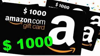 How To Get $1000 Card? - booty big