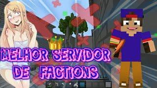 Melhor servidor de factions minecraft  0.15.10 sem lag igual de pc!