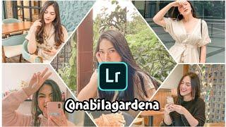 Edit Foto Ala Selebgram Nabilagardena Lightroom Mobile | FEED INSTAGRAM NABILAGARDENA