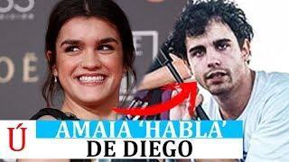 Amaia se pronuncia sobre 'su nuevo novio' tras su ruptura con Alfred en los Goya | Operación Triunfo