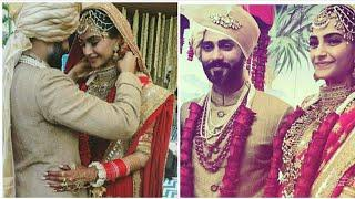 Sonam Kapoor And Anand Ahuja's Wedding Photos Cute Photo Collection