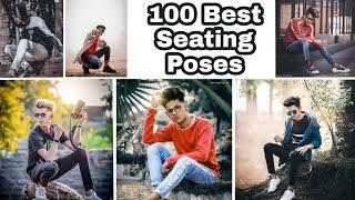 instagram poses | 100 best model poses for boy / male / Photography / PHOTOSHOOT | best seating pose