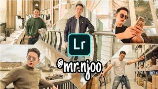 Edit Foto ala Selebgram @Mr.njoo Lightroom Fullpack Tutorial | FREE LIGHTROOM MOBILE PRESET