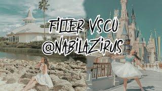 Cara Edit Foto Selebgram Seperti@NABILAZIRUS di VSCO