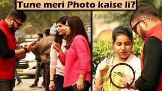 TAKING PHOTOS OF CUTE GIRLS | Epic Reactions | Unglibaaz