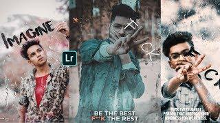 F**K - lightroom wet glass effect photo retouching - lightroom moody brown editing tutorial