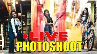 Slum Photoshoot (LIVE MAKING OF PHOTOGRAPHY) Best photoshoot poses for girls - ONETAKE PHOTOGRAPHY
