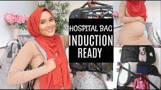 WHAT'S IN MINE AND BABY'S HOSPITAL BAG| INDUCTION AT 40 WEEKS PREGNANT!