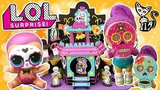 LOL SURPRISE DAY OF THE DEAD CELEBRATION | Series 4 Ultra Rare Boy + Under Wraps + Lil Sisters