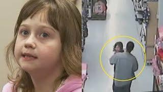 Walmart Security Cameras Captured A Man Grabbing A Girl – And The Incredible Moment She Fought Back