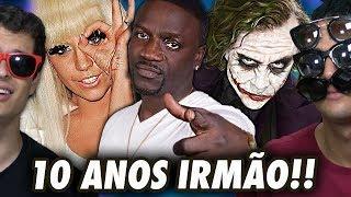 COISAS QUE COMPLETAM 10 ANOS EM 2018 !! (MÚSICAS, FILMES E NOTÍCIAS)