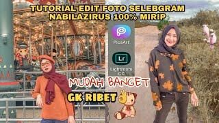 TUTORIAL EDIT FOTO NABILAZIRUS FEED INSTAGRAM UNIK ||By putriaals