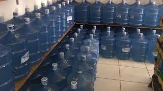 O comercial Reis agora tem mais 100 garrafões de água