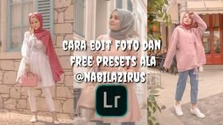 Cara Edit Foto Seperti @NABILAZIRUS Di Lightroom