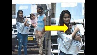 SHAHID KAPOOR AND MIRA RAJPUT TAKES BABY BOY HOME - FIRST PICS OF ZIAN KAPOOR GOING HOME