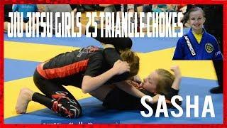 Jiu Jitsu Girl's 25 Deadly Triangle Chokes