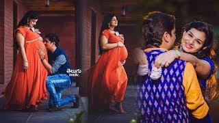 Singer Krishna Chaitanya Wife Mrudula Maternity Photo Stills Collection | Telugu Tonic