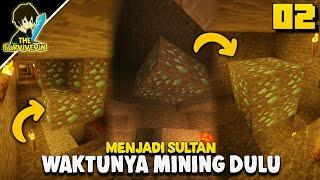 MINING DULU DEMI BONGKAHAN BERLIAN | The Survivevin Minecraft Indonesia #02!