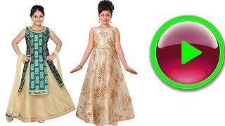 Girl's Indian Party Wear Lehenga Choli for Girls Kids 2018  in amazon shopping online dresses
