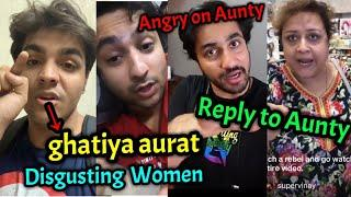 Mumbiker Nikhil, Ashish Chanchlani, Harsh Beniwal reply to Viral Aunty | Instagram Viral Aunty