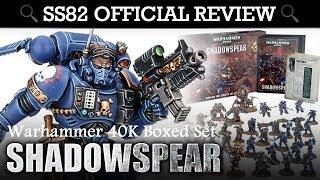 *NEW* Shadowspear Warhammer 40K Boxed Set REVIEW + UNBOXING