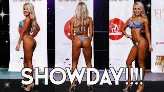 ITS SHOW TIME!!!!! IFBB Bikini Competition | Lean in 2018 ep.16