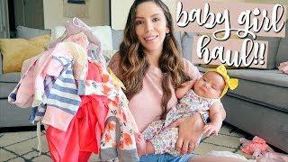 BABY GIRL/TODDLER HAUL! INSTAGRAM SHOPS AND MORE