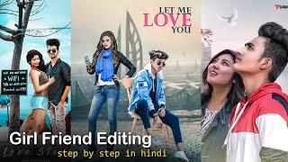 GF BG : Girl Friend Picsart Photo Editing | Professional Lightroom Editing Tutorial