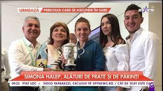 Simona Halep, ședință foto cu trofeul câștigat la Roland Garros