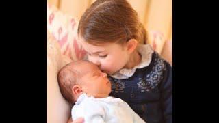 Família real divulga fotos do príncipe Louis