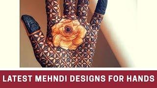 Simple Mehndi designs for hands 2019 | mehndi design images | latest mehndi designs | New Mehndi