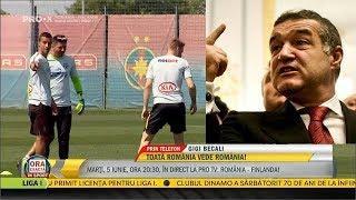 """Gigi Becali :"""" Vorbesc zilnic cu Sumudica, il vreau pe Mitrita, Alibec sa-si caute echipa !"""