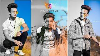 2019 Black And White Natural Photo Editing Tutorial || Best Instagram Viral Concept Photo Editing