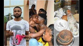 Pictures  Of 19 Yahoo Boys With Pants, Charms  Arrested by EFCC in Ibadan